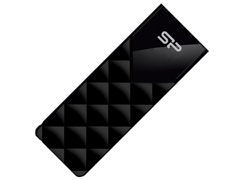 USB Flash Drive 32Gb - Silicon Power Blaze B03 USB 3.2 Gen 1 32Gb Black SP032GBUF3B03V1K usb flash drive 32gb silicon power blaze b20 black sp032gbuf3b20v1k