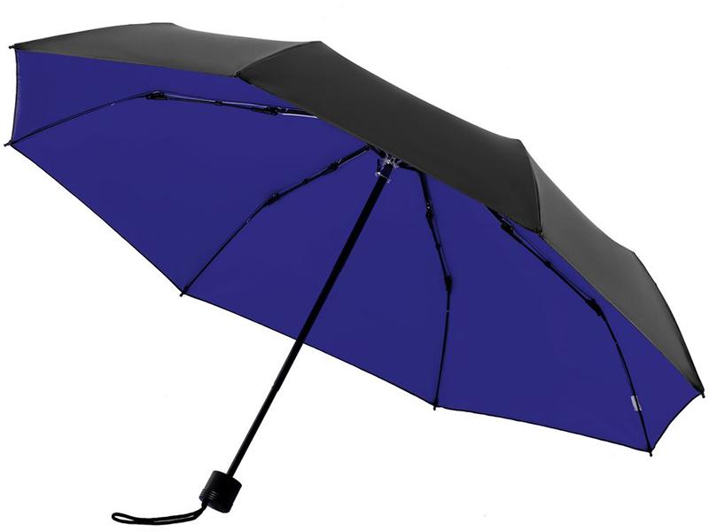 Зонт Molti Sunbrella с защитой от УФ-лучей Bright Blue-Black 10993.44