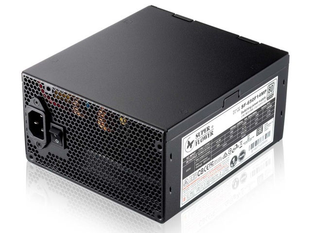 Блок питания Super Flower Power Supply Leadex Platinum 650W ATX SF-650F14MP