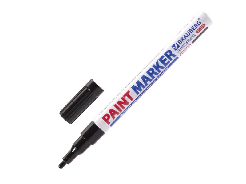 Маркер Brauberg Professional Plus Paint Marker 2mm Black 151439