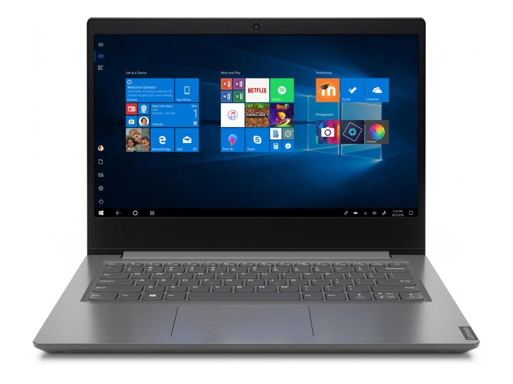 Ноутбук Lenovo V14-IIL Grey 82C400RYRU (Intel Core i5-1035G1 1.0 GHz/8192Mb/256Gb SSD/Intel HD Graphics/Wi-Fi/Bluetooth/Cam/14.0/1920x1080/DOS) ноутбук lenovo v17 iil intel core i3 1005g1 1200mhz 17 3 1920x1080 8gb 256gb ssd dvd нет intel uhd graphics wi fi bluetooth dos 82gx007qru iron grey
