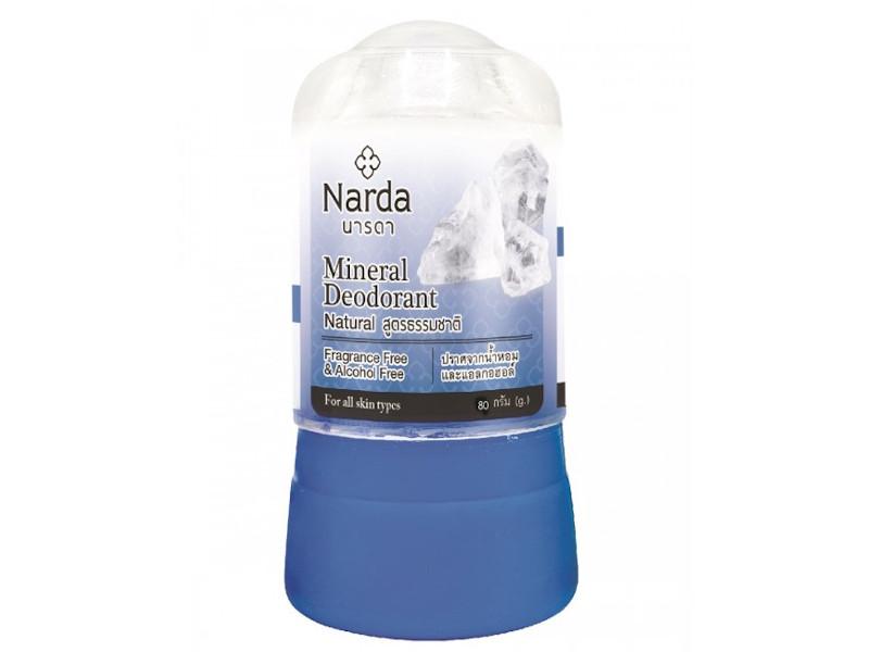 Дезодорант Narda Mineral Deodorant Natural 80г 60105