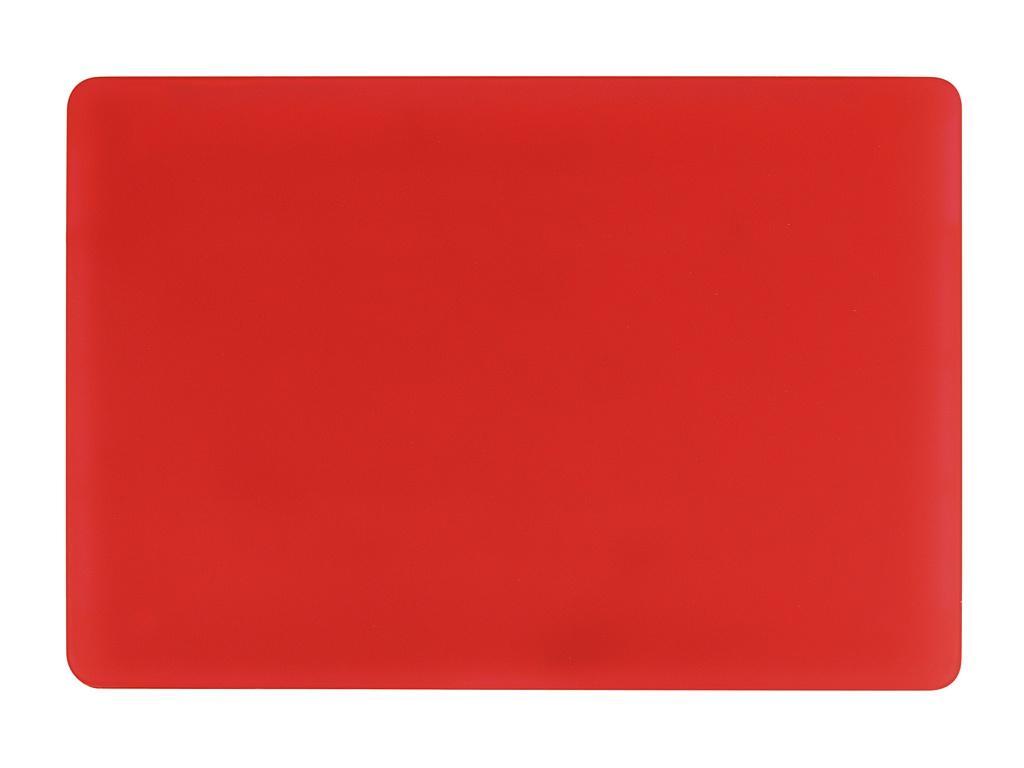 Аксессуар Чехол Gurdini для APPLE Macbook Pro 16 New 2019 Plastic Matt Red 912523