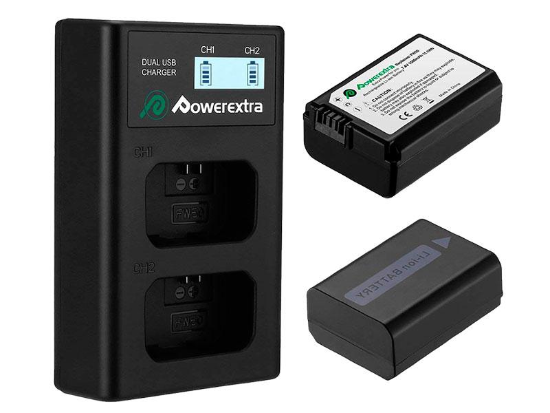 Фото - Аккумулятор Powerextra NP-FW50 + зарядное устройство 18496 аккумулятор acmepower np fw50