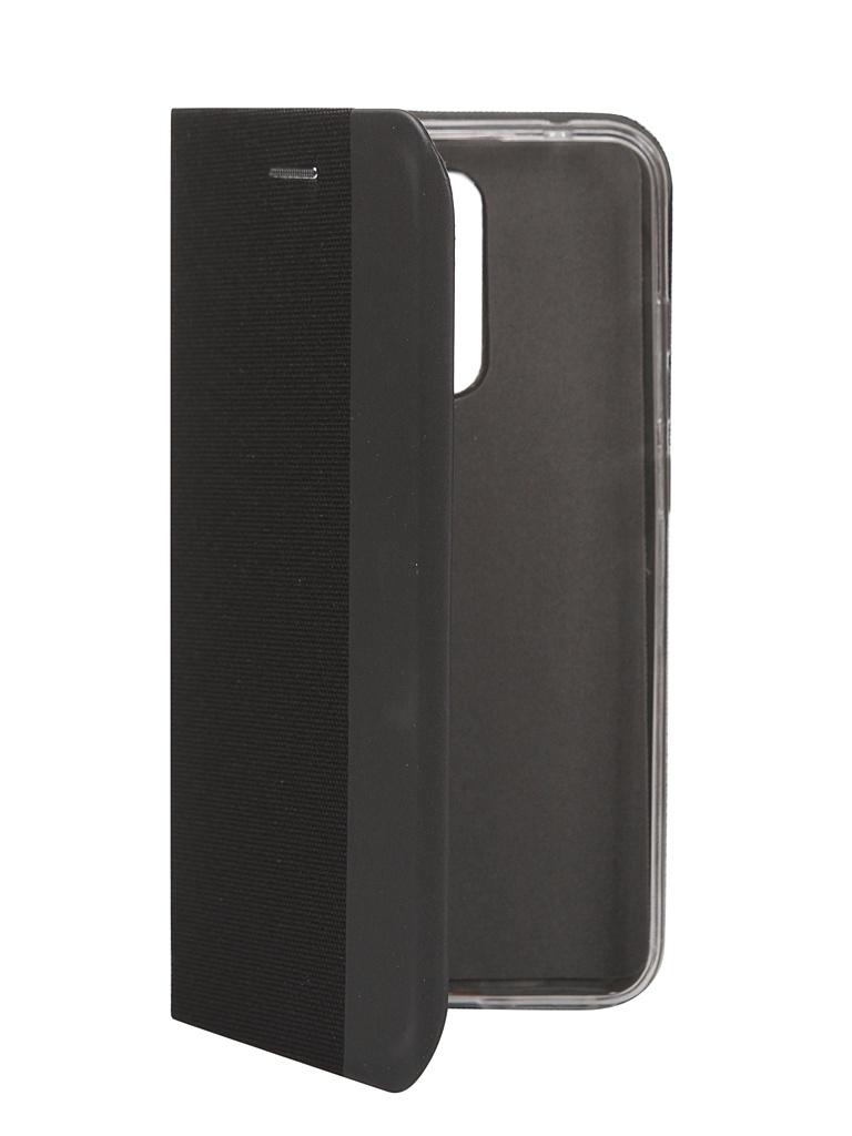 Чехол Fono для Xiaomi Redmi 8 Folio Case Black 2512