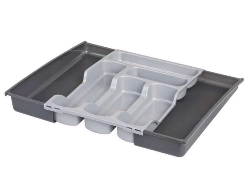 Лоток для столовых приборов Curver Silver 05752-877