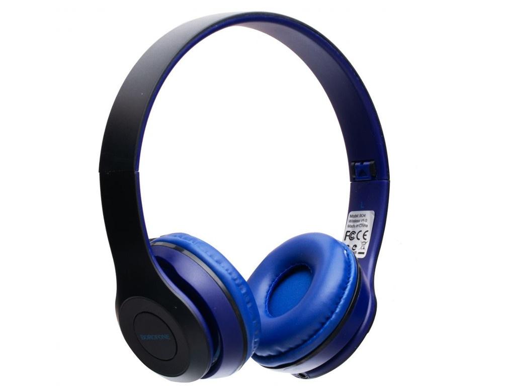 Наушники Borofone BO4 Charming Rhyme Blue