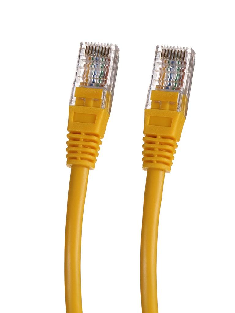 Сетевой кабель Gembird Cablexpert UTP cat.5e 30m Yellow PP12-30M/Y