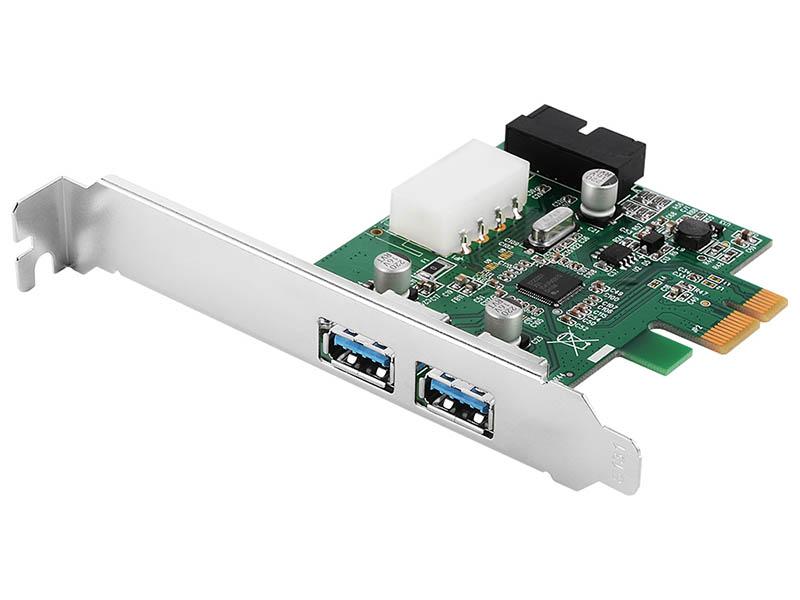 Контроллер Orient VA-3U2219PE PCI-Ex - 2ext+2int x USB 3.0 oem 30296