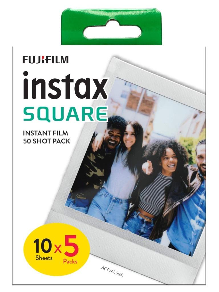 Fujifilm Instax Square 50 Shot Film Pack 10/5PK для 70100147085