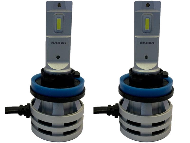 Лампа Narva Range Performance LED H11/H8/H16 12/24V 16W 6500K 18036 (2 штуки)