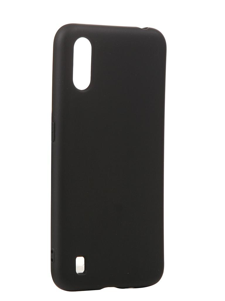 Чехол Neypo для Samsung Galaxy A01 (2020) Silicone Case 2.0mm Black NSC16356