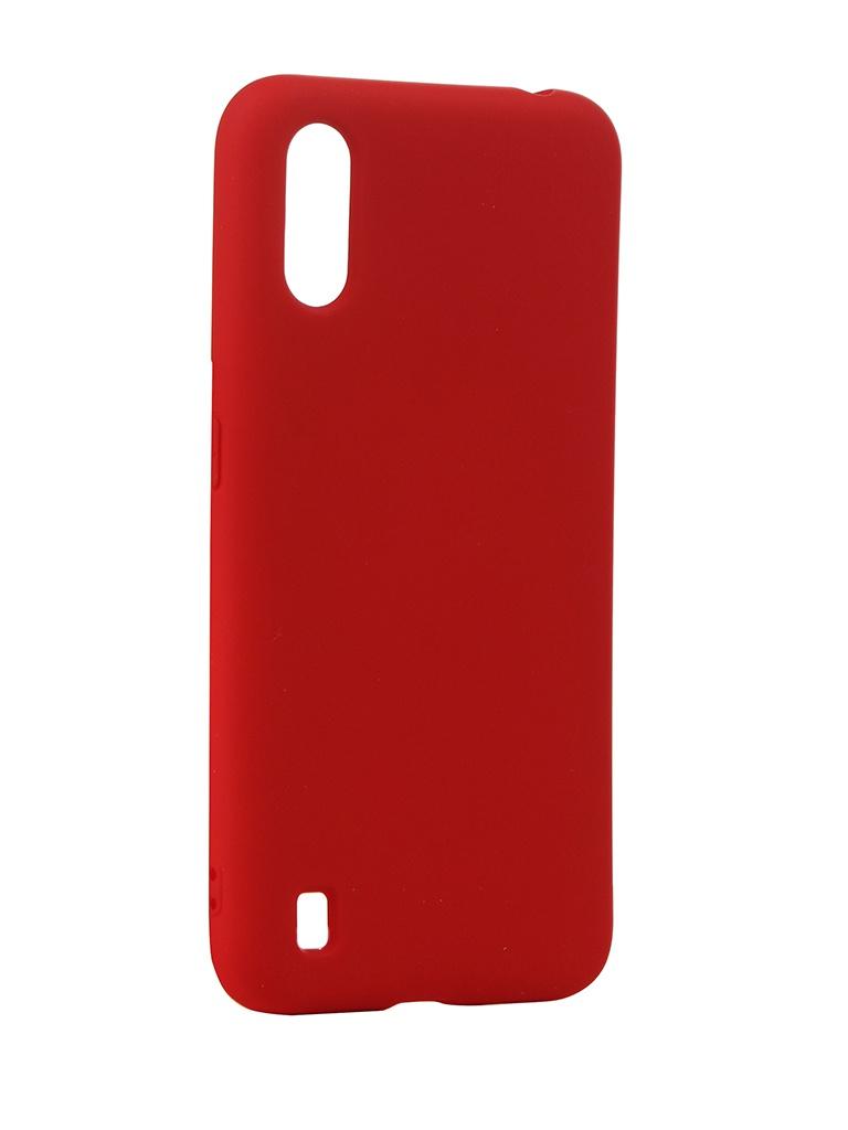 Чехол Neypo для Samsung Galaxy A01 (2020) Silicone Case 2.0mm Red NSC16358 чехол neypo для samsung a51 2020 silicone case black nsc16312