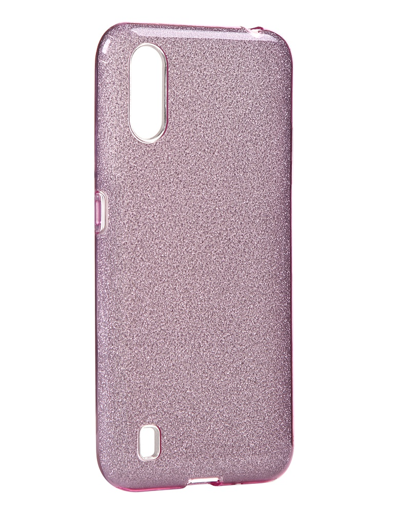 Чехол Neypo для Samsung Galaxy A01 2020 Brilliant Silicone Purple Crystals NBRL16836