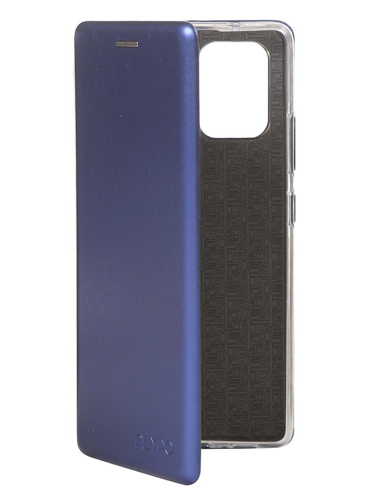 Чехол Neypo для Samsung Galaxy S10 Lite 2020 Premium Blue NSB16722