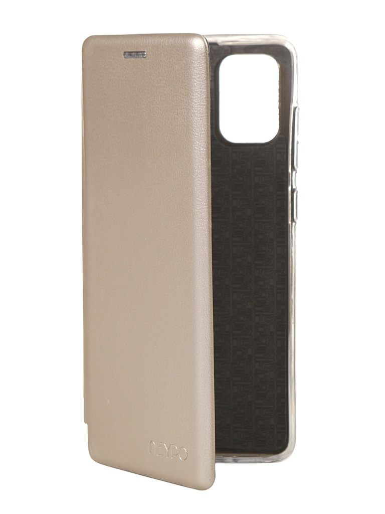 Чехол Neypo для Samsung Galaxy A71 2020 Premium Gold NSB16225