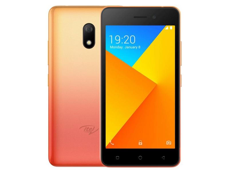 Сотовый телефон itel A16 Plus DS Sunglow Gold