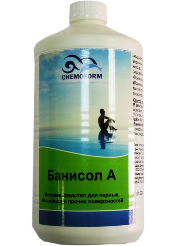 Средство для очистки поверхностей Chemoform Банисол А 1L 1416001/1331001