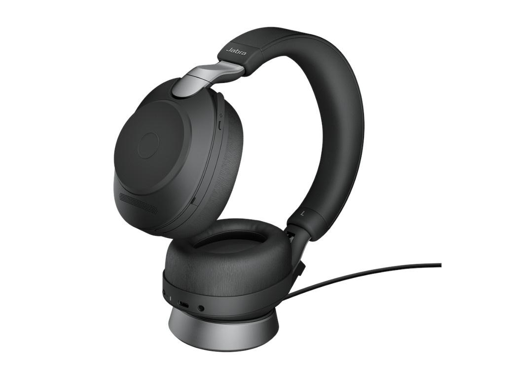 Наушники Jabra Evolve2 85 Link380c UC Stereo Stand Black 28599-989-889 наушники jabra evolve2 65 link380c uc stereo stand black 26599 989 889