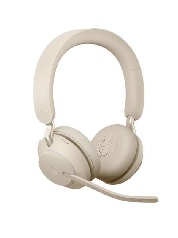 Наушники Jabra Evolve2 65 Link380a MS Stereo Beige 26599-999-998
