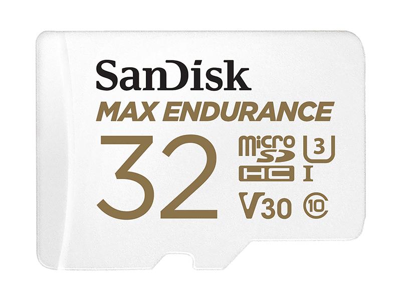 Карта памяти 32Gb - SanDisk microSD Max Endurance Class 10 UHS-I SDSQQVR-032G-GN6IA