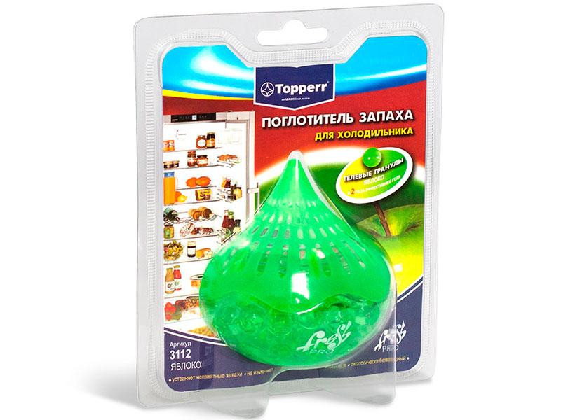 Поглотитель запаха для холодильника Topperr Яблоко 3112