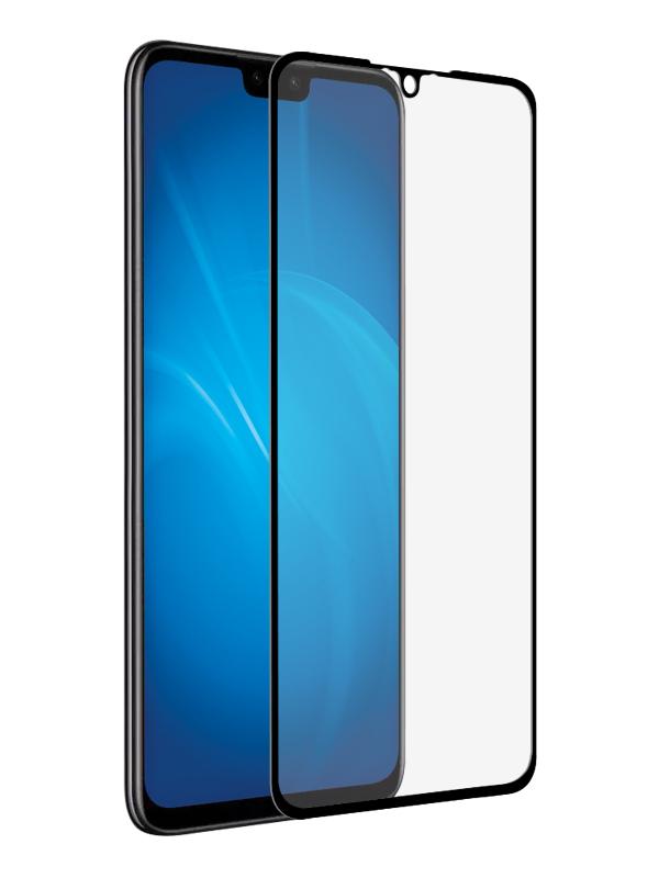 Закаленное стекло DF для Huawei Y8s Full Screen Full Glue Black Frame hwColor-118 закаленное стекло df для huawei p30 pro 3d full screen black hwcolor 94