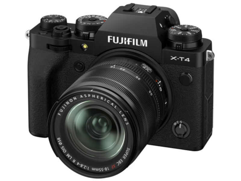 Фотоаппарат Fujifilm X-T4 Kit 18-55mm Black