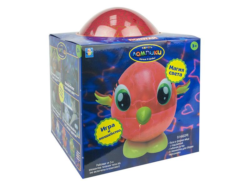 Фото - Светильник 1Toy Лампики Попугай Т16360 ночник 1 toy лампики попугай т16360 коробка