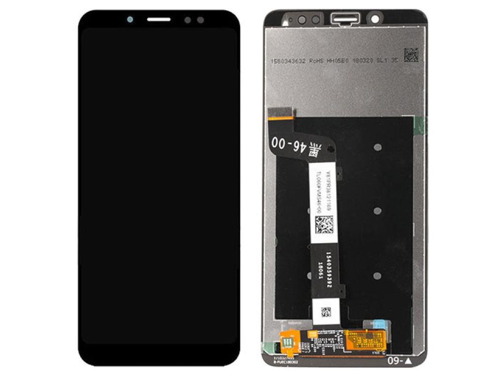 Дисплей RocknParts для Xiaomi Redmi Note 5 в сборе с тачскрином Black 642903 дисплей rocknparts zip для xiaomi redmi note 4x black 573664
