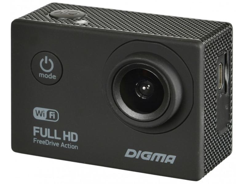 Видеорегистратор Digma FreeDrive Action Full HD WiFi