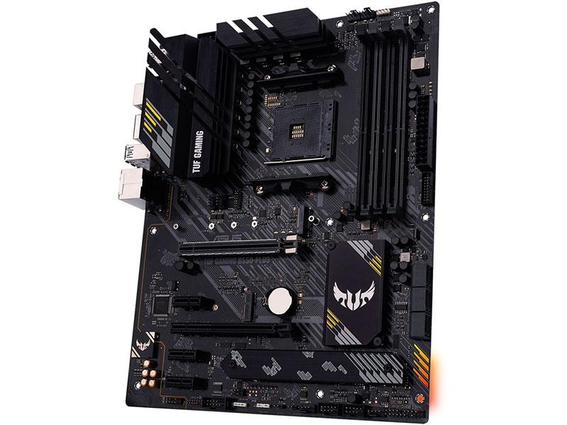 Фото - Материнская плата ASUS TUF Gaming B550-PLUS материнская плата asus tuf gaming b550 plus