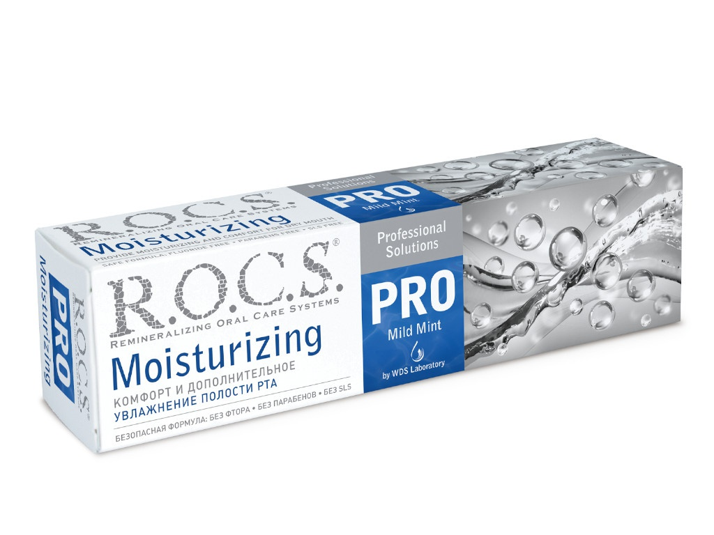 Зубная паста R.O.C.S Pro Moisturizing 135g 03-08-013