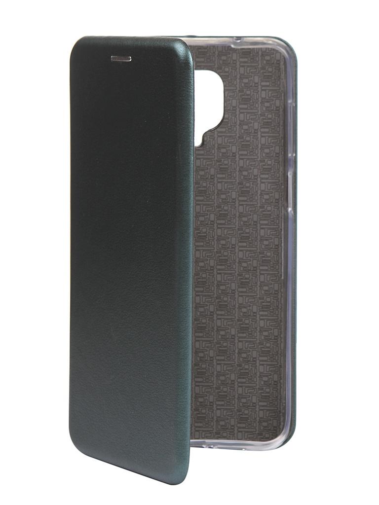 Фото - Чехол Zibelino для Xiaomi Redmi Note 9S / 9 Pro Book Emerald ZB-XIA-RDM-NOT9S-DGRN чехол zibelino для xiaomi redmi 9 book platinum grey zb xia rdm 9 gry
