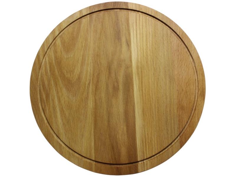 доска разделочная деревянная bohmann bh 02 597 диаметр 25 см Доска разделочная Bohmann 30cm BH-02-561