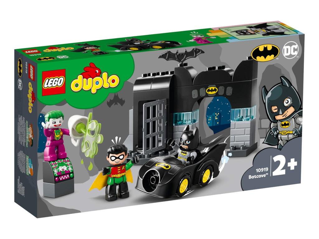 Конструктор Lego Duplo Бэтпещера 33 дет. 10919