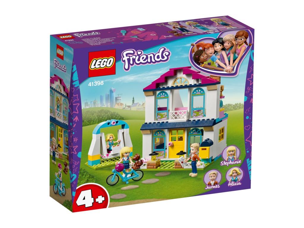 Конструктор Lego Friends Дом Стефани 170 дет. 41398
