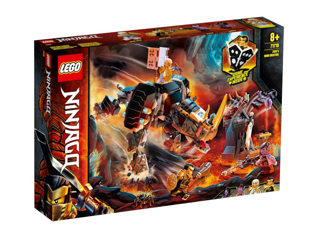Конструктор Lego Ninjago Бронированный носорог Зейна 616 дет. 71719