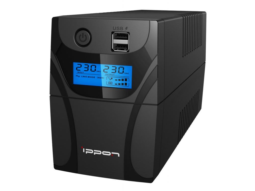Источник бесперебойного питания Ippon Back Power Pro II 400 Black
