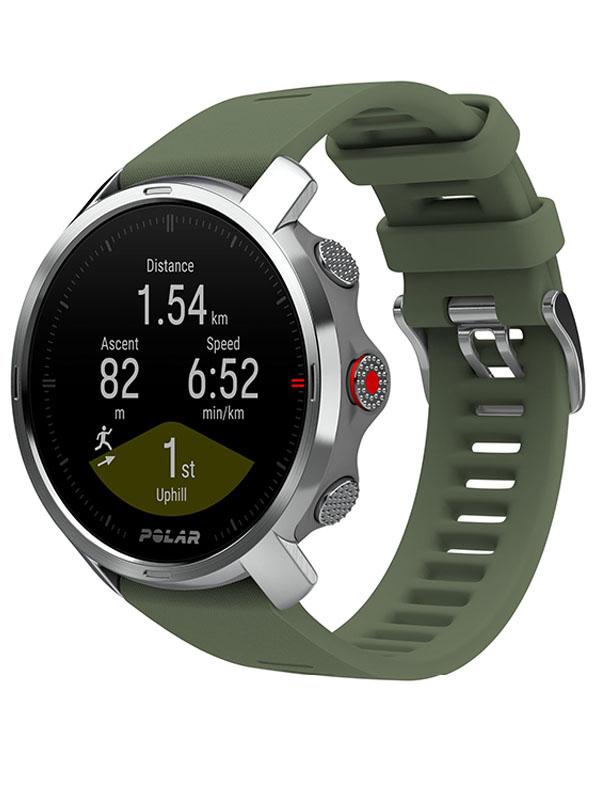 Часы Polar Grit X Green