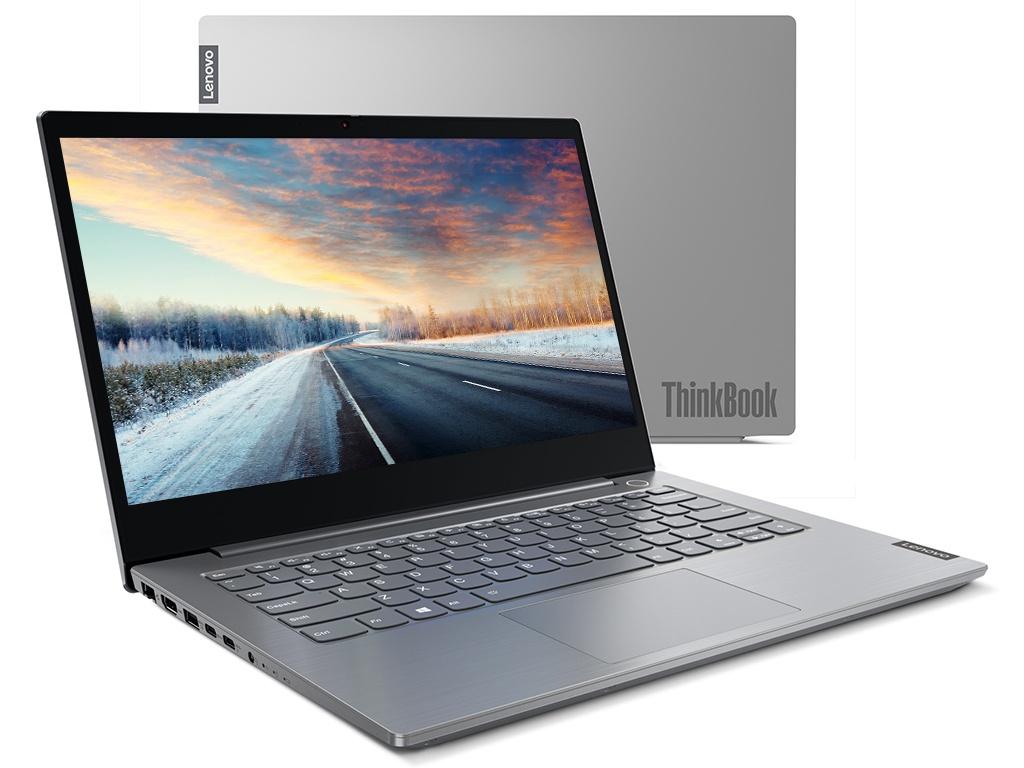 Ноутбук Lenovo ThinkBook 14-IIL 20SL0036RU (Intel Core i5-1035G1 1.0GHz/8192Mb/512Gb SSD/No ODD/AMD Radeon 630 2048Mb/Wi-Fi/14/1920x1080/DOS)