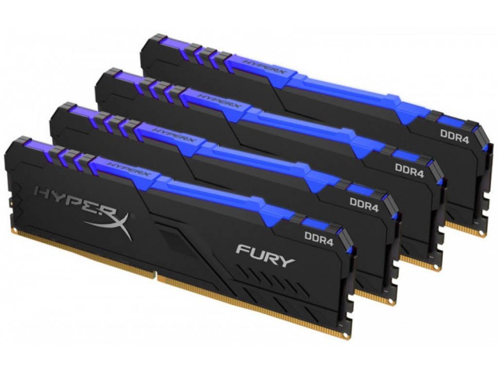Модуль памяти HyperX Fury RGB HX432C16FB3AK4/64