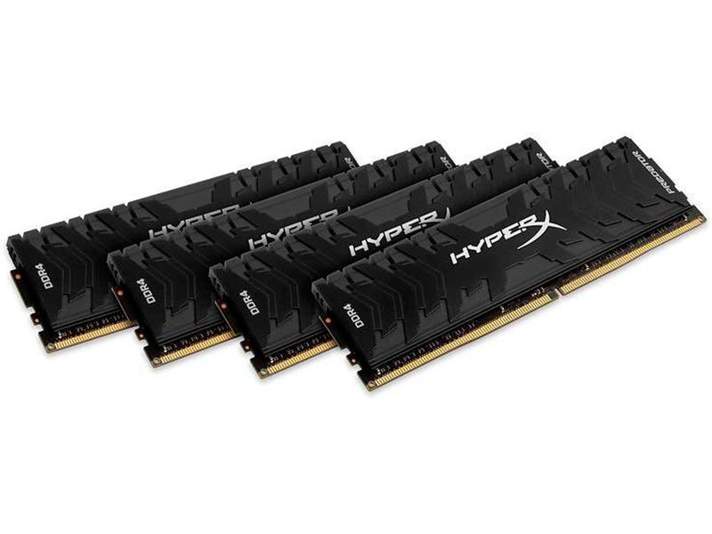 Модуль памяти HyperX Predator DDR4 DIMM 3200Mhz PC25600 CL16 - 64Gb KIT(4x16Gb) HX432C16PB3K4/64