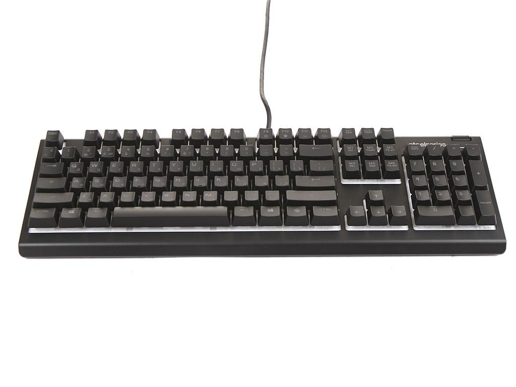Клавиатура SteelSeries Apex 3 RU Black 64805