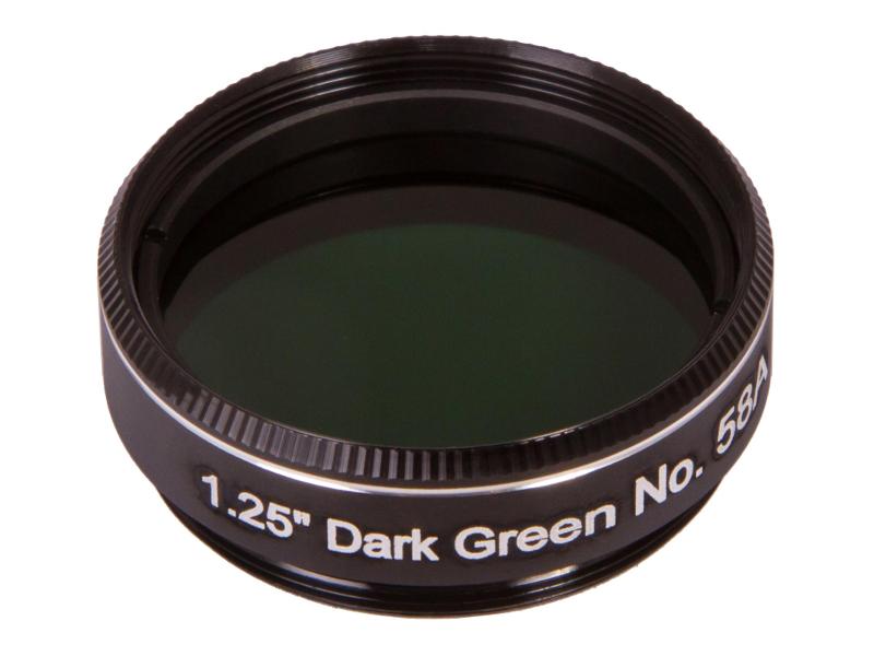 "Фото - Светофильтр Synta Explore Scientific №58A 1.25 Dark Green 73778 светофильтр поляризационный переменный explore scientific 2"""