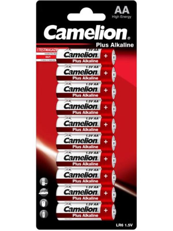 Батарейка AA - Camelion LR6 Plus Alkaline (10 штук) LR6-BP10
