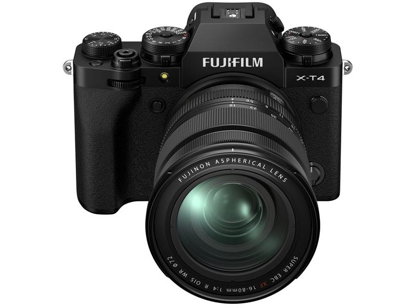 Фотоаппарат Fujifilm X-T4 Kit 16-80mm Black X-T4 Kit 16-80mm 16651150