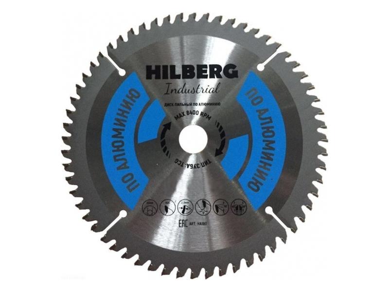 Диск Trio Diamond Hilberg Industrial HA165 пильный по алюминию 165x20mm 56 зубьев