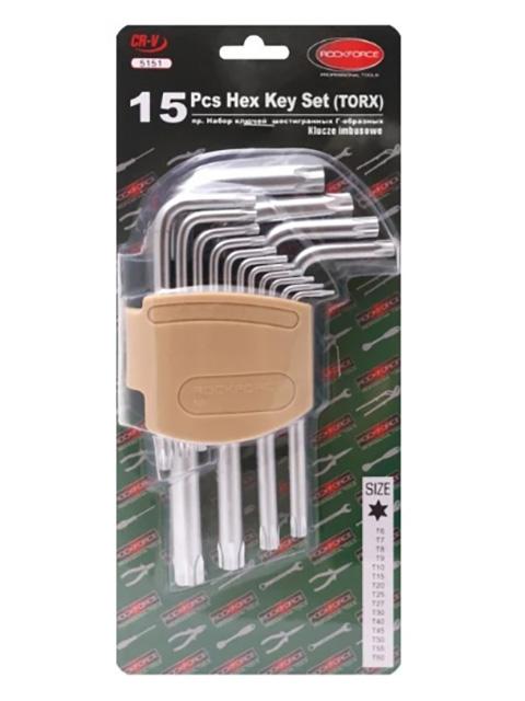 Фото - Набор ключей Rock Force RF-5151 набор ключей rock force rf 50811a