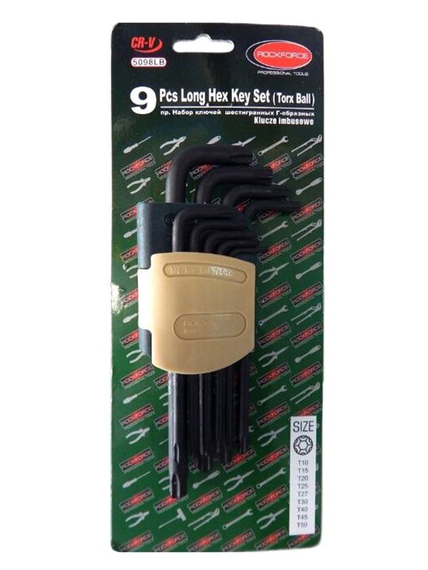 Фото - Набор ключей Rock Force RF-5098LB набор ключей rock force rf 50811a